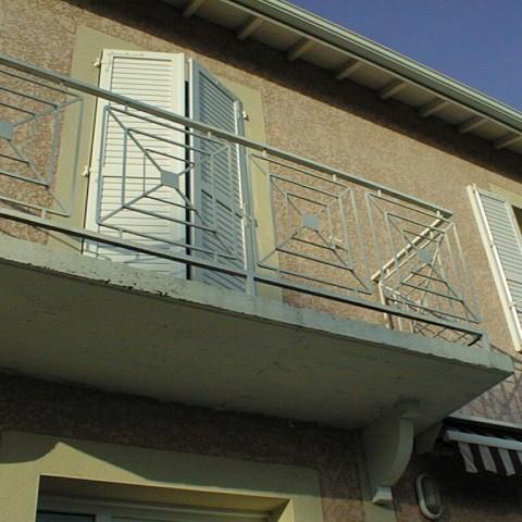 Balcon croix st andré