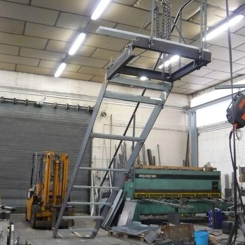 Fabrication escalier métal