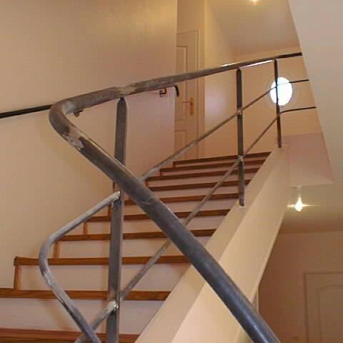 Garde corps acier lyon garde corps escalier mions portail - Garde corps ontwerpen contemporain ...