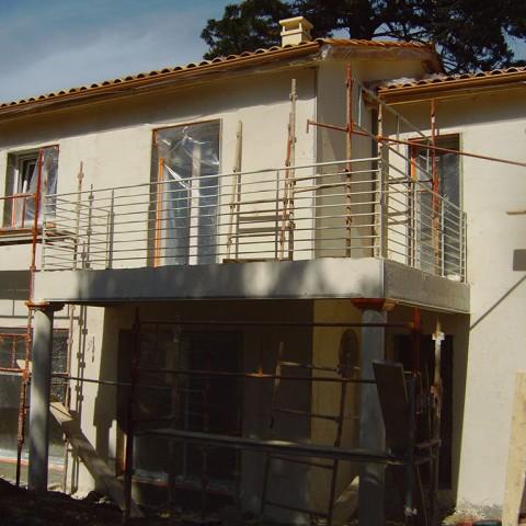Rampe pour balcon