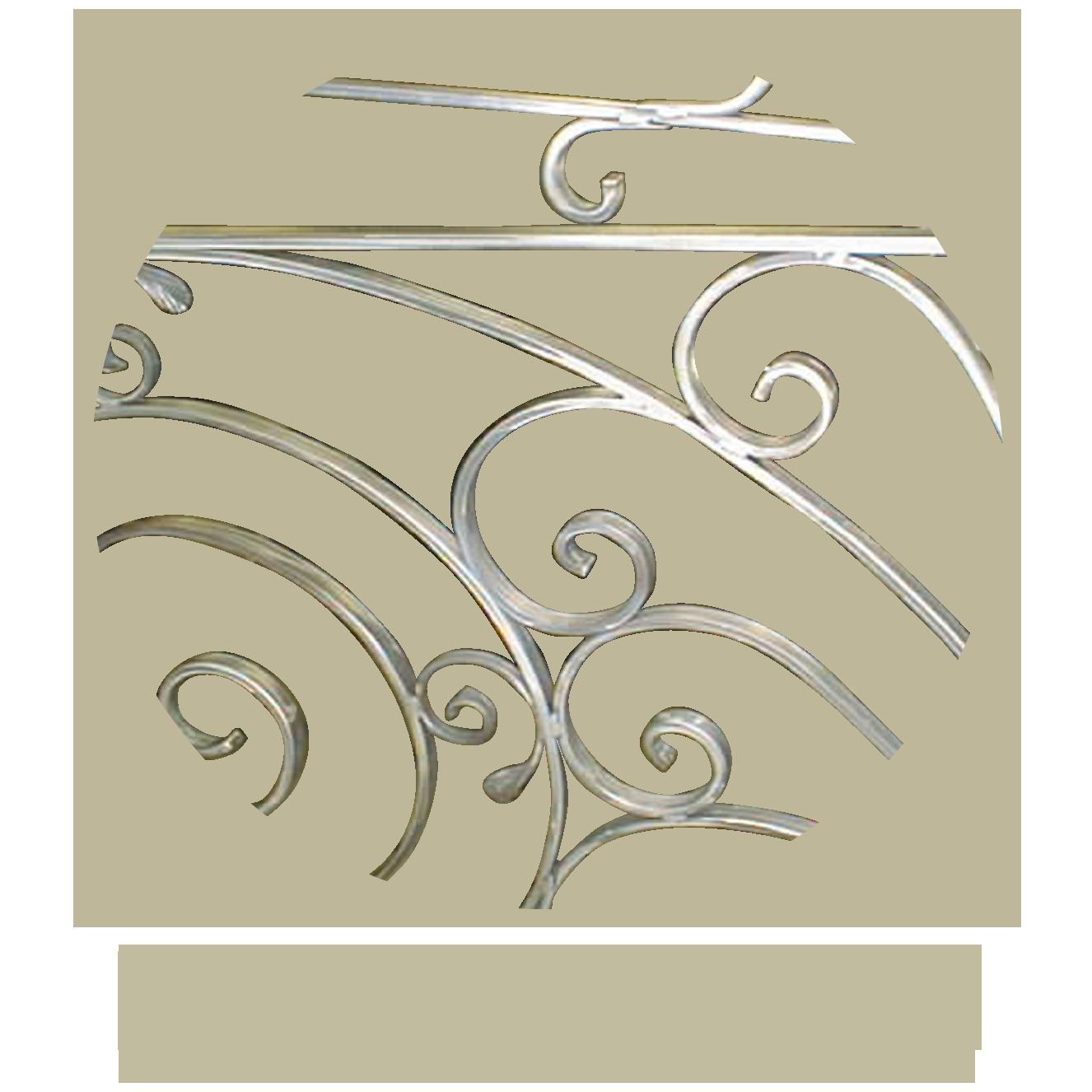 D coration m tal pergolas objets en m tal mions portail - Garde corps transparent ...